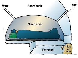 Tip 5: Build An Effective Snow Shelter