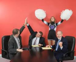 Be a Professional Cheerleader