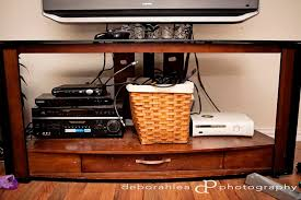Clean out your entertainment center