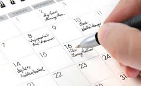 To-do lists and calendars