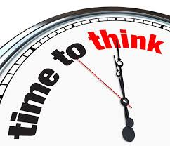 Create Specified Time For Thinking