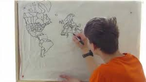 Draw a Map from Memory