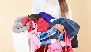 Getting Rid Of Clothes