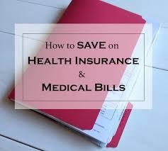 Reduce Health Insurance Bills