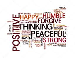 Speak positive words