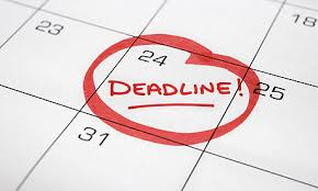 7. Set Deadlines