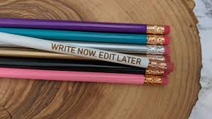 Write Now, Edit Later