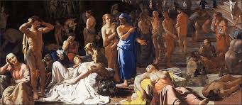 430 B.C.: Plague of Athens