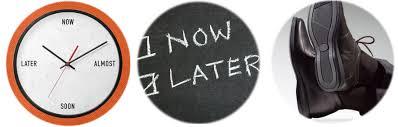 The drawbacks of procrastination