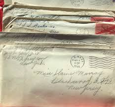 Letters in WWII