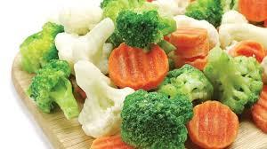 Frozen foods nutrients