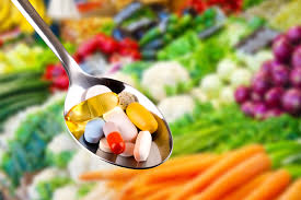 Suppliments don't replace a healty diet