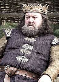 Robert Baratheon matches Henry VIII Of England