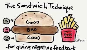 1. Use The Feedback Sandwich