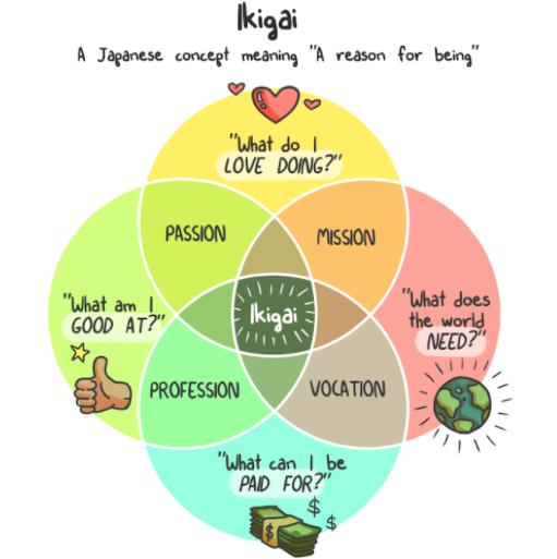 Finding the Ikigai